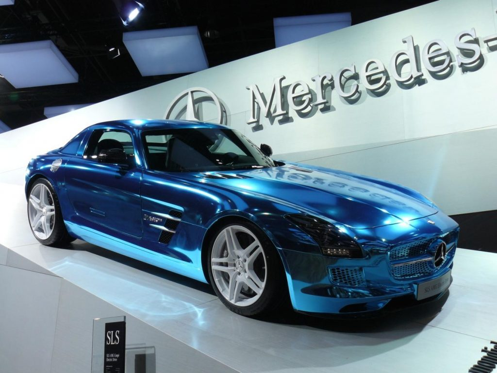 Mercedes Launching a Full Range of Electric Vehicles