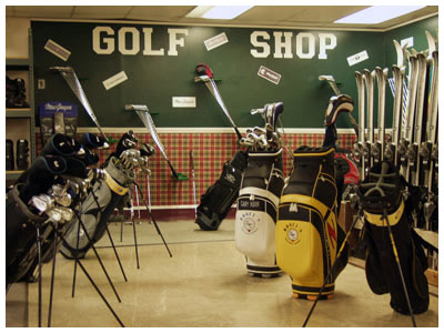 Golf Pro Shop: What All It Should Have