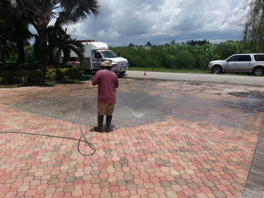 Brick Paver Clean
